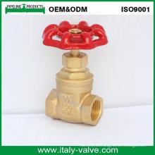 OEM y ODM Válvula de compuerta forjada de cobre amarillo de la calidad (AV4050)