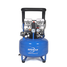 Best price mini portable upright standing quiet silent medical oil free dental air compressor