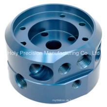 Blau eloxierte CNC Macnining Teile
