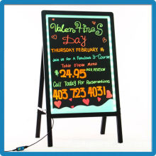 2015 Best selling high quality full color magic magnetic dry erase drawing board arcylic led writing board manufacturer