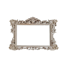Carved wooden mirror frames made of European solid wood  furniture