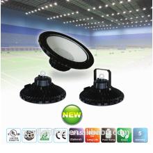 cUL DLC 100w 120w 150w 130LM/W UFO led high bay light with 60 degree lens