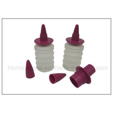 Decoración de alimentos de silicona set botella de crema (RS34)