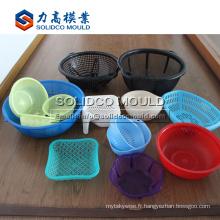Bon qulity en plastique légumes fruits riz lavage tomber moule moule ustensiles de cuisine