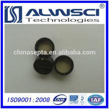 Herstellung 24-400 schwarz geschlossene Kappe mit Septen für 40ml Fläschchen