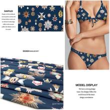 Digitaldruck Polyester Knit Stoff für Bademode und Jersey-Kleid