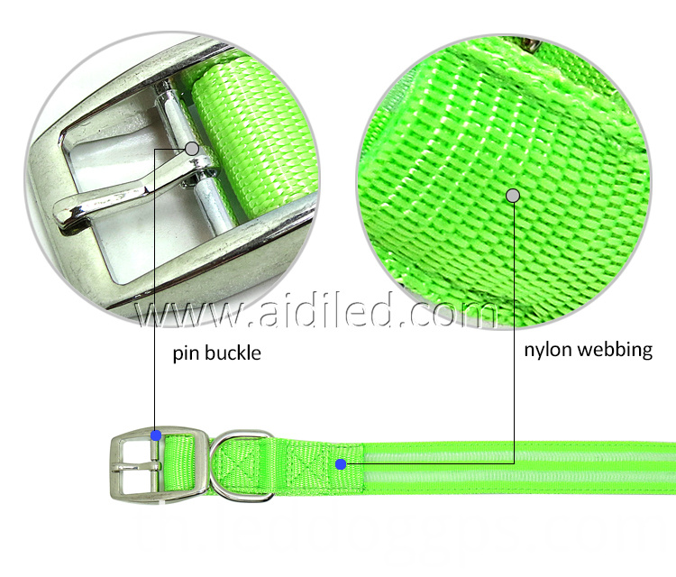 Pin Buckle Dog Collar