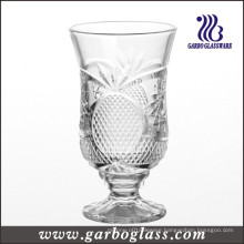 Footed Engraved Wine Glass Cup (GB040606BL)