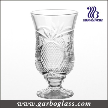French Style 6oz Engraved Glass Juice Cup (GB040606BL)