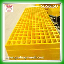 Grillage moulé FRP / GRP, grille en fibre de verre pour plate-forme et passerelle