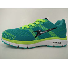 Latest Design Green Sport Jogging Shoes