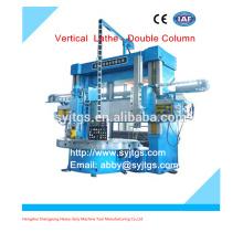 Torno vertical de columna doble precio para la venta en stock ofrecido por la fabricación de torno vertical grande de China