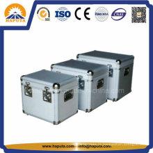 3-em-1 alumínio caixa de armazenamento de ferramenta com fechaduras de Metal