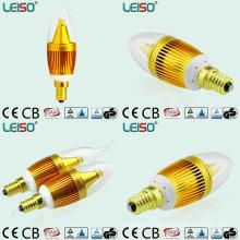 2800k Patent Design Scob 5W E14 LED C35 Bougie Ampoule