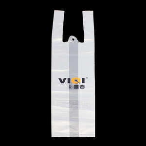 Plastic Bag Carrying Handle Vest Bag