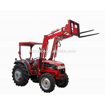 Mini tracteur de jardin avec chargeur frontal