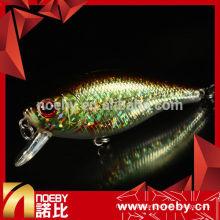 NBL 9166 60mm minnow isca de pesca dura atraem iscas flutuantes