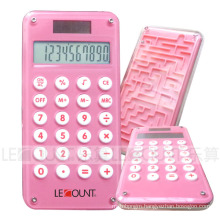 8 Digits Dual Power Pocket Calculator with Maze Game (LC501A-1)