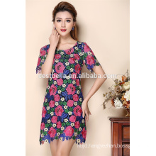 2016 hot sale ladies sexy casual dress latest summer dresses one piece dress