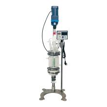 High Efficiency Hemp Crude Oil Mini Separation Extractor Filter Glass Reactor Crystallization Reactor