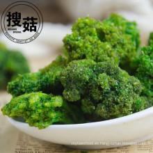 Aspire fd chips de brócoli, chips vegetales, refrigerios saludables bajos en grasa