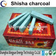 Briquette charbon de bois de taille différente, charbon de bois pour narguilé
