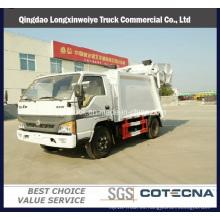 Nuevo modelo 4cbm Rhd 4X2 Compactor Garbage Truck