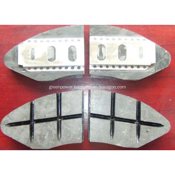 Composite Brake Shoes for Railway