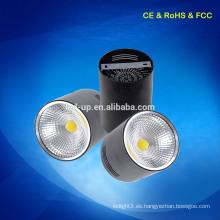 Zhongshan superficie de precio de fábrica montado techo LED abajo luz COB 10W