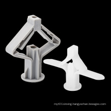 Nylon Plastic Anchor Screw Fasteners Hollow Wall Anchor For Plasterboard