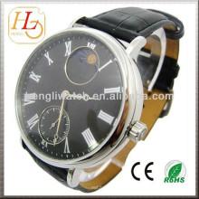 Механические часы автоматические часы, Япония с натуральной кожи (JA15007)