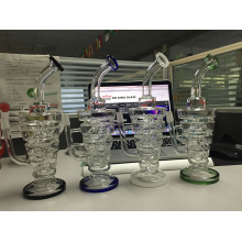 Spring Perc Glass Water Pipe Triangle Shape Buck Stock Wholesale Percolarter Glass Enjoylifeworld