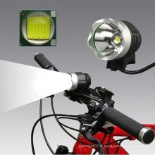 Phare phare vélo CREE Xml T6 avec chargement USB