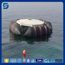 flotante y elevación del airbag marino del barco