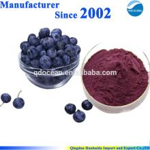 Organice Blaubeersaftpulver, Blaubeerpulverkonzentrat