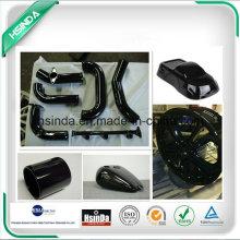 ISO Factory Ral Color Gráfico 9005 Negro Spray Epoxy poliéster en polvo de recubrimiento