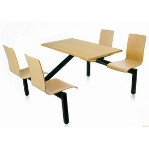 Stainless steel seats with table