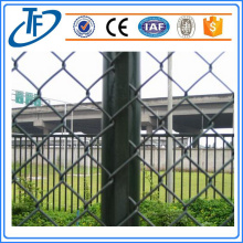 PVC Green Chain Link Fence