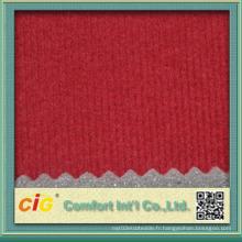 Tissu de doublure de toit coloré de haute qualité