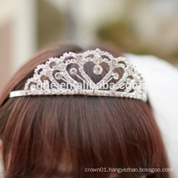 princess wand tiara with dangling rhinestones silver plastic tiara wholesale hair tiaras and crowns