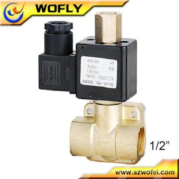 """1/8"""" brass air solenoid valve"""