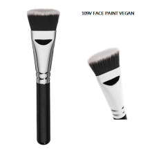 Vegan Flat Face Paint Contour Brush (F109V)