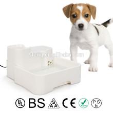 Nuevo alimentador para mascotas Fuente dispensadora de agua automática Plato para alimentos Plato Waterer Dog Cat