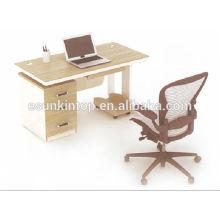 Venta de muebles de oficina de venta de calor, muebles de escritorio de oficina utilizados para el color de teca