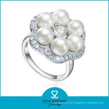 Venta al por mayor barato del anillo de bodas de la plata esterlina 925 (SH-R0615)