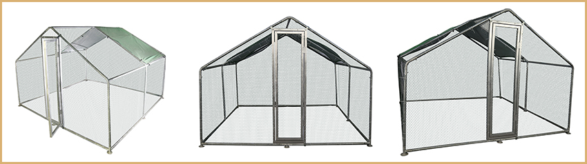 large chicken kennel-1
