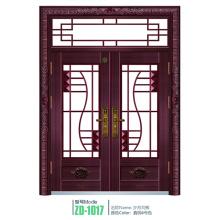 Puerta de entrada de Zhejiang entrada puerta vidrio comercial en zhejiang