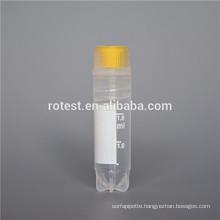 hot selling plastic 1.8ml/2ml cryovial internal threaded cap