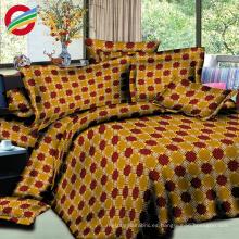 hojas de ropa de cama de poli algodón tela textil hogar 3d para la venta