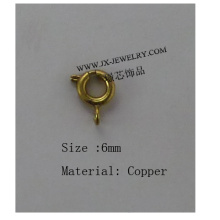Wholesale Jewelry Round Slide Clasps Copper Jewelry Accessory